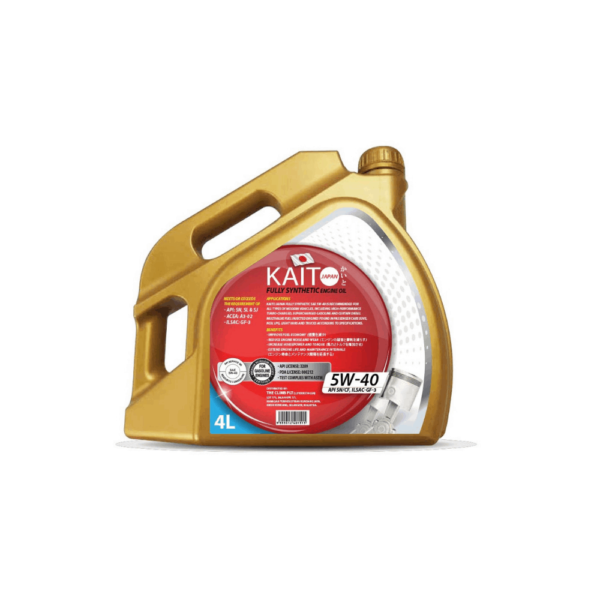 Kaito Japan 5W40 SNCF Fully Synthetic Engine Oil (4l)-9019